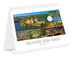 Kalender Sachsen von oben kompakt 2022