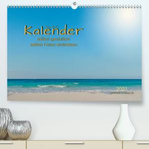 Kalender – selbst gestalten, Fotos selbst einkleben (Premium, hochwertiger DIN A2 Wandkalender 2021, Kunstdruck in Hochglanz) von Roder,  Peter