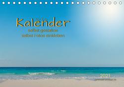 Kalender – selbst gestalten, Fotos selbst einkleben (Tischkalender 2021 DIN A5 quer) von Roder,  Peter