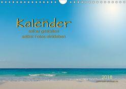 Kalender – selbst gestalten, Fotos selbst einkleben (Wandkalender 2018 DIN A4 quer) von Roder,  Peter