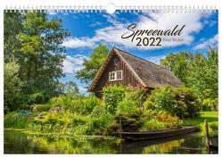 Kalender Spreewald 2022 von Becker,  Peter