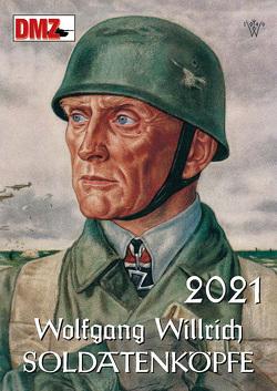 """Kalender """"Willrich: Soldatenköpfe"""" 2021 von Deutsche Militärzeitschrift"""