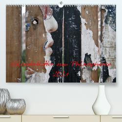 Kalenderblätter zum Philosophieren 2021 (Premium, hochwertiger DIN A2 Wandkalender 2021, Kunstdruck in Hochglanz) von Stolzenburg,  Kerstin
