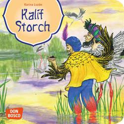 Kalif Storch. Mini-Bilderbuch. von Grünwald,  Karina, Hauff,  Wilhelm
