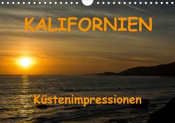 KALIFORNIEN Küstenimpressionen (Wandkalender 2021 DIN A4 quer) von Berlin, Schoen,  Andreas