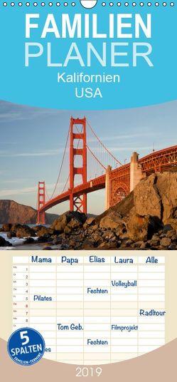 Kalifornien USA – Familienplaner hoch (Wandkalender 2019 <strong>21 cm x 45 cm</strong> hoch) von Schickert,  Peter