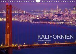 KALIFORNIEN (Wandkalender 2019 DIN A4 quer) von Dieterich,  Werner