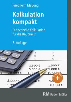 Kalkulation kompakt von Maßong,  Friedhelm