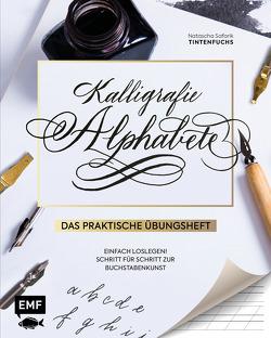 Kalligrafie Alphabete – Das praktische Übungsheft von Safarik,  Natascha