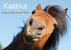 Kaltblut – schwere Pferde mit Herz (Tischkalender 2019 DIN A5 quer) von Bölts,  Meike