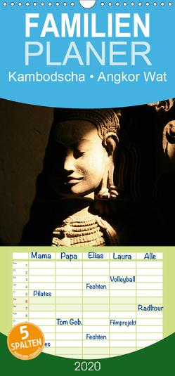 Kambodscha • Angkor Wat – Familienplaner hoch (Wandkalender 2020 , 21 cm x 45 cm, hoch) von Stanzer,  Elisabeth