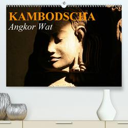 Kambodscha • Angkor Wat (Premium, hochwertiger DIN A2 Wandkalender 2020, Kunstdruck in Hochglanz) von Stanzer,  Elisabeth