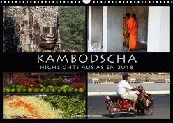 Kambodscha Highlights aus Asien 2018 (Wandkalender 2018 DIN A3 quer) von Gerner-Haudum . Reisefotografie,  Gabriele