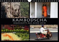 Kambodscha Highlights aus Asien 2018 (Wandkalender 2018 DIN A4 quer) von Gerner-Haudum . Reisefotografie,  Gabriele