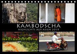 Kambodscha Highlights aus Asien 2019 (Tischkalender 2019 DIN A5 quer) von Gerner-Haudum . Reisefotografie,  Gabriele