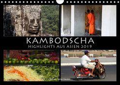 Kambodscha Highlights aus Asien 2019 (Wandkalender 2019 DIN A4 quer) von Gerner-Haudum . Reisefotografie,  Gabriele