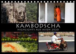 Kambodscha Highlights aus Asien 2020 (Tischkalender 2020 DIN A5 quer) von Gerner-Haudum . Reisefotografie,  Gabriele