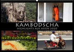 Kambodscha Highlights aus Asien 2020 (Wandkalender 2020 DIN A2 quer) von Gerner-Haudum . Reisefotografie,  Gabriele