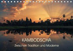 KAMBODSCHA Zwischen Tradition und Moderne (Tischkalender 2019 DIN A5 quer) von Claude Castor I 030mm-photography,  Jean