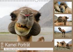 Kamel Porträt (Wandkalender 2018 DIN A3 quer) von Gruse,  Sven