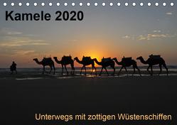 Kamele 2020 – Unterwegs mit zottigen WüstenschiffenCH-Version (Tischkalender 2020 DIN A5 quer) von Weber,  Melanie