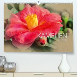 Kamelien Blüten (Premium, hochwertiger DIN A2 Wandkalender 2020, Kunstdruck in Hochglanz) von Meutzner,  Dirk