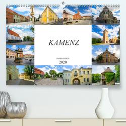 Kamenz Impressionen (Premium, hochwertiger DIN A2 Wandkalender 2020, Kunstdruck in Hochglanz) von Meutzner,  Dirk