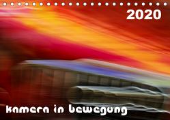 Kamera in Bewegung (Tischkalender 2020 DIN A5 quer) von Braun,  Werner
