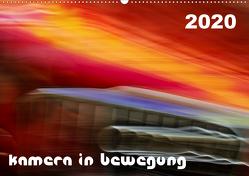 Kamera in Bewegung (Wandkalender 2020 DIN A2 quer) von Braun,  Werner