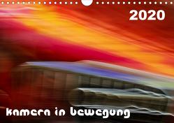 Kamera in Bewegung (Wandkalender 2020 DIN A4 quer) von Braun,  Werner