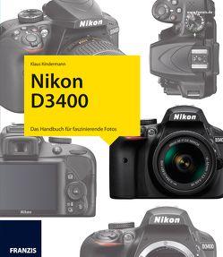 Kamerabuch Nikon D3400 von Kindermann,  Klaus
