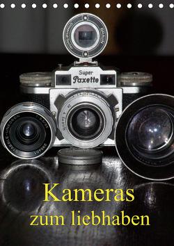 Kameras zum liebhaben (Tischkalender 2021 DIN A5 hoch) von Burkhardt,  Bert