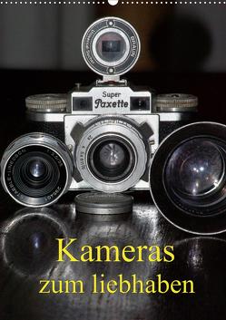 Kameras zum liebhaben (Wandkalender 2021 DIN A2 hoch) von Burkhardt,  Bert