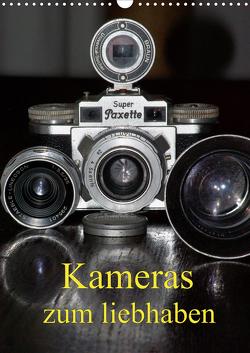 Kameras zum liebhaben (Wandkalender 2021 DIN A3 hoch) von Burkhardt,  Bert