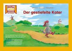 Kamishibai: Der gestiefelte Kater von Brüder Grimm, , Slawski,  Wolfgang