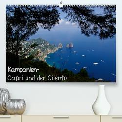 Kampanien – Capri und der Cilento (Premium, hochwertiger DIN A2 Wandkalender 2021, Kunstdruck in Hochglanz) von Hegerfeld-Reckert,  Anneli