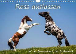 Kampf der Hengste – Ross auslassen auf der SommeralmAT-Version (Wandkalender 2019 DIN A4 quer) von Reisenhofer,  Richard