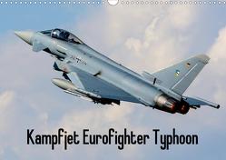 Kampfjet Eurofighter Typhoon (Wandkalender 2020 DIN A3 quer) von Engelke,  Björn