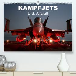 Kampfjets • U.S. Aircraft (Premium, hochwertiger DIN A2 Wandkalender 2021, Kunstdruck in Hochglanz) von Stanzer,  Elisabeth