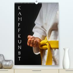 Kampfkunst (Premium, hochwertiger DIN A2 Wandkalender 2021, Kunstdruck in Hochglanz) von Jäger,  Anette/Thomas
