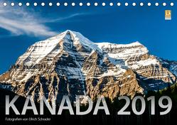 Kanada 2019 (Tischkalender 2019 DIN A5 quer) von Schrader,  Ulrich