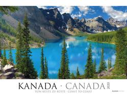 Kanada 2020 – Canada – Bildkalender XXL (64 x 48) – Landschaftskalender – Naturkalender – Wandkalender – Gebirge von ALPHA EDITION