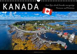Kanada – eine Reise durch Kanadas einzigartige Provinzen und Territorien (Wandkalender 2020 DIN A3 quer) von Roder,  Peter