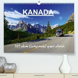 KANADA – Mit Campmobil quer durch (Premium, hochwertiger DIN A2 Wandkalender 2020, Kunstdruck in Hochglanz) von Pfaff,  Hans-Gerhard