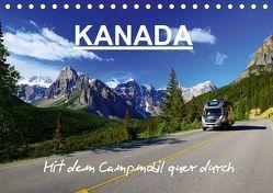 KANADA – Mit Campmobil quer durch (Tischkalender 2019 DIN A5 quer)