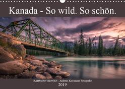 Kanada – So wild. So schön. (Wandkalender 2019 DIN A3 quer) von - Andreas Kossmann Fotografie,  RAHMENVISIONEN