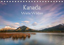Kanada – Weite WildnisAT-Version (Tischkalender 2019 DIN A5 quer) von Jordan,  Sonja