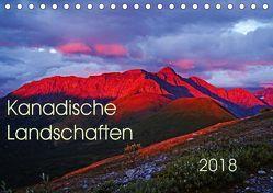 Kanadische Landschaften 2018 (Tischkalender 2018 DIN A5 quer) von Schug,  Stefan