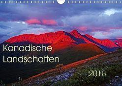 Kanadische Landschaften 2018 (Wandkalender 2018 DIN A4 quer) von Schug,  Stefan