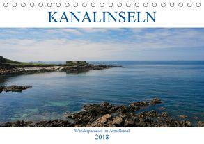 Kanalinseln – Wanderparadies im Ärmelkanal (Tischkalender 2018 DIN A5 quer) von Dippel,  Gabriele
